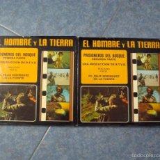 Cine: PRISIONEROS DEL BOSQUE-CORTOMETRAJE-SUPER 8 MM –VINTAGE FILM. Lote 56716728