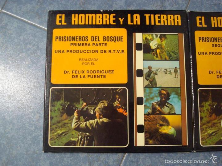 Cine: PRISIONEROS DEL BOSQUE-CORTOMETRAJE-SUPER 8 MM –VINTAGE FILM - Foto 10 - 56716728