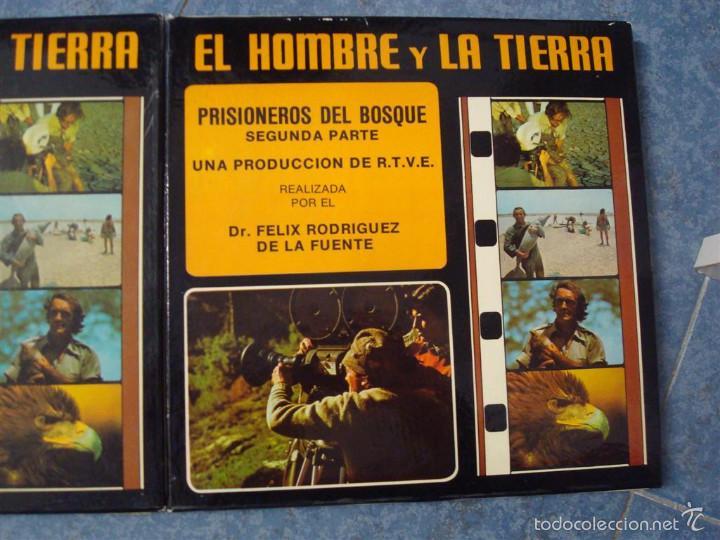 Cine: PRISIONEROS DEL BOSQUE-CORTOMETRAJE-SUPER 8 MM –VINTAGE FILM - Foto 11 - 56716728