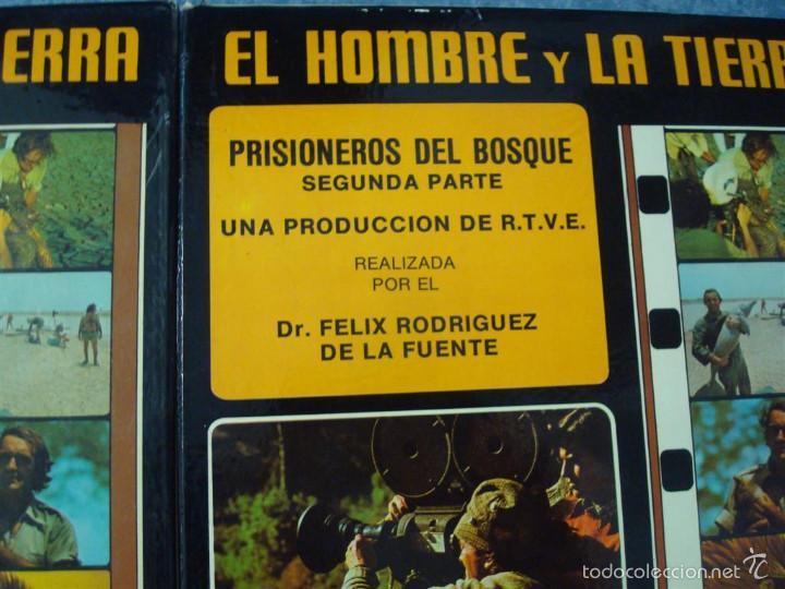 Cine: PRISIONEROS DEL BOSQUE-CORTOMETRAJE-SUPER 8 MM –VINTAGE FILM - Foto 13 - 56716728