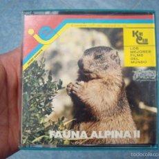 Cine: FAUNA ALPINA II CORTOMETRAJE-SUPER 8 MM –VINTAGE FILM. Lote 57283904