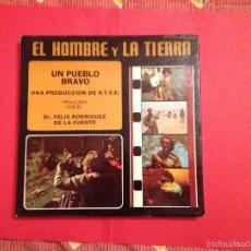 Cine: SÚPER 8: RODRÍGUEZ DE LA FUENTE (EL HOMBRE Y LA TIERRA: 17; UN PUEBLO BRAVO) RTVE; ARIES. AÑOS 70'S.. Lote 57314691
