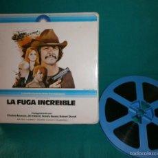 Cine: LA FUGA INCREIBLE CHARLES BRONSON SUPER 8 SONORO EN ESPAÑOL BUEN ESTADO TAMAÑO GRANDE. Lote 57625013