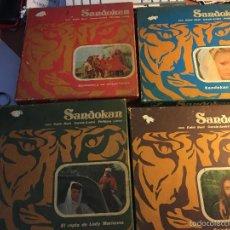 Cine: SANDOKAN SUPER 8 1976 FILMS GOFER COMPLETA EN 6 BOBINAS . LOTE MUY DIFICIL (DVD5). Lote 58086060