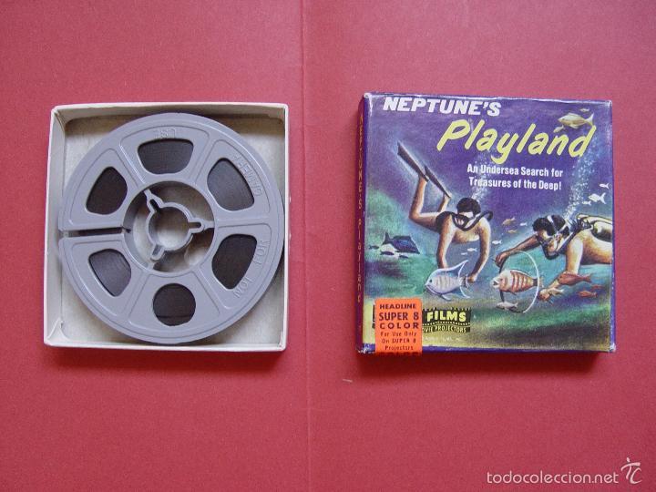 SÚPER 8 MM.: NEPTUNE'S PLAYLAND (CASTLE FILMS) 1970'S ¡ORIGINAL! COLECCIONISTA (Cine - Películas - Super 8 mm)