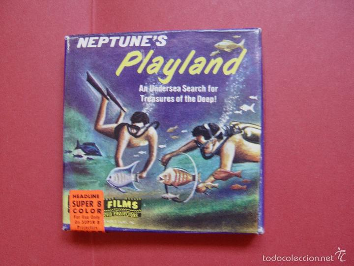 Cine: SÚPER 8 mm.: NEPTUNE'S PLAYLAND (Castle Films) 1970's ¡ORIGINAL! Coleccionista - Foto 2 - 58435749