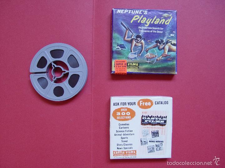Cine: SÚPER 8 mm.: NEPTUNE'S PLAYLAND (Castle Films) 1970's ¡ORIGINAL! Coleccionista - Foto 4 - 58435749