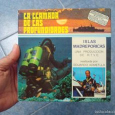 Cine: ISLAS MADREPORICAS- CORTOMETRAJE-DOCUMENTAL-SUPER 8 MM VINTAGE FILM. Lote 58528675