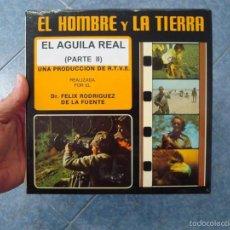Cine: EL AGUILA REAL ( 2ª PARTE) CORTOMETRAJE-SUPER 8 MM VINTAGE FILM. Lote 58529026