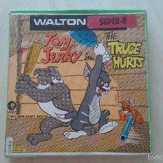 Cine: WALTON SUPER 8 --TOM & JERRY ( THE TRUCE HURTS ) -- DIBUJOS ANIMADOS, METRO GOLDWIN MAYER -- 1973 --. Lote 59132630