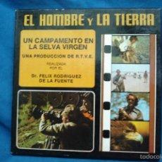 Cine: EL HOMBRE Y LA TIERRA Nº 15 - FELIX RODRIGUEZ DE LA FUENTE R.T.V.E. - SUPER 8 COLOR SONORA, 180 M.. Lote 60510559