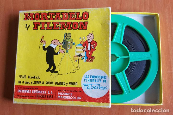 MORTADELO Y FILEMON - EL CASO DEL APAGON / SUPER 8 / AÑOS 70 (Cine - Películas - Super 8 mm)
