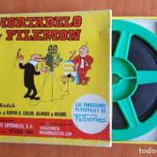 Cine: MORTADELO Y FILEMON - EL CASO DEL APAGON / SUPER 8 / AÑOS 70. Lote 61399267