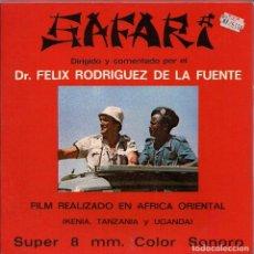 Cine: SAFARI DR, FÉLIX RODRIGUES DE LA FUENTE. Lote 62269312