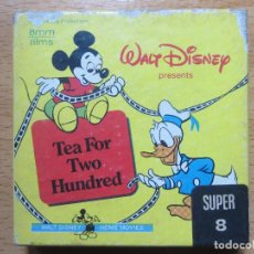 Cine: PELICULA SUPER 8 WALT DISNEY. THE FOR TWO HUNDRED.. Lote 63479656