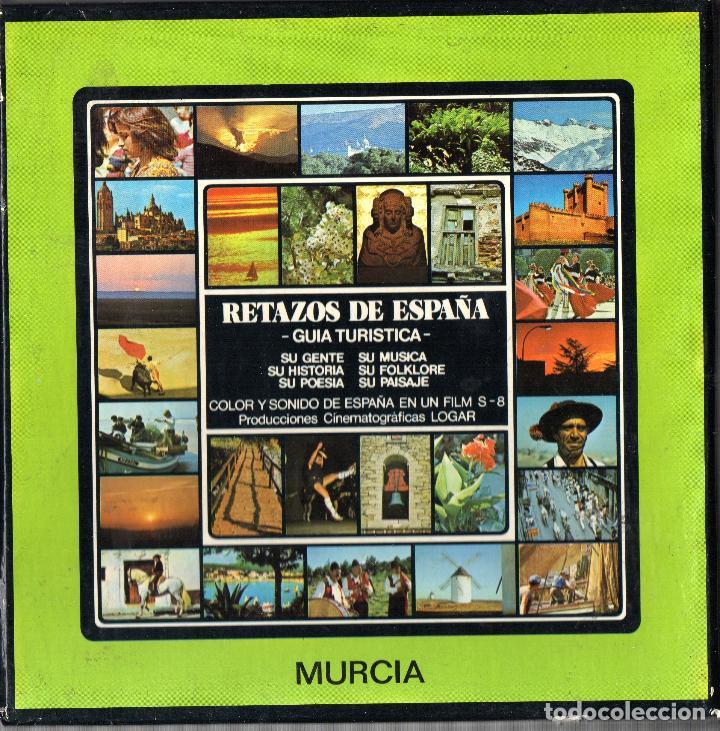 SUPER 8 ++ RETAZOS DE ESPAÑA. MURCIA ++ DOCUMENTAL 120 METROS (DC) (Cine - Películas - Super 8 mm)