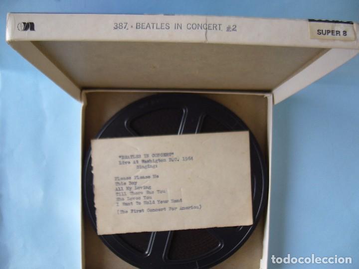 THE BEATLES - CONCIERTO WASHINGTON 1964 (Cine - Películas - Super 8 mm)