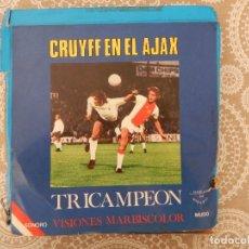 Cine: CRUYFF EN EL AJAX TRICAMPEÓN SONORO HABLADO EN ESPAÑOL. Lote 68367993