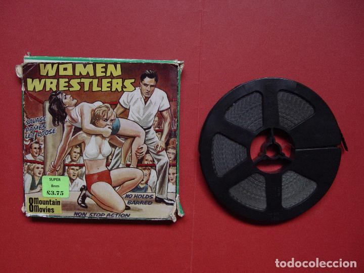 SÚPER 8 MM.: WOMEN WRESTLERS (MOUNTAIN MOVIES) UK, 1970'S ¡ORIGINAL! COLECCIONISTA (Cine - Películas - Super 8 mm)