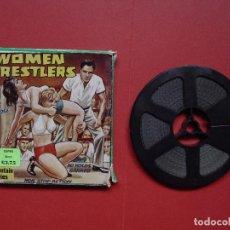 Cine: SÚPER 8 MM.: WOMEN WRESTLERS (MOUNTAIN MOVIES) UK, 1970'S ¡ORIGINAL! COLECCIONISTA. Lote 68704097