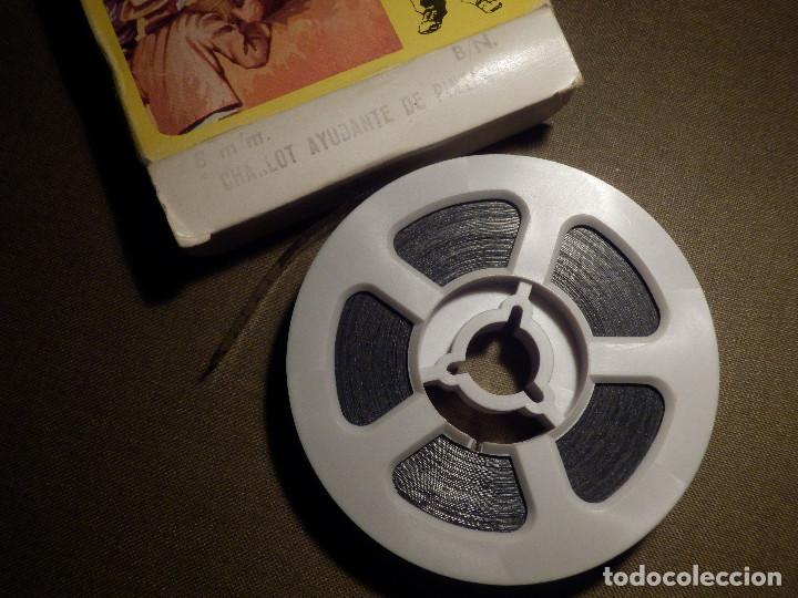 Cine: Antigua Película Super 8 mm. - Charlot Ayudante de Pintor - B/N - Como nueva - Foto 4 - 69892885