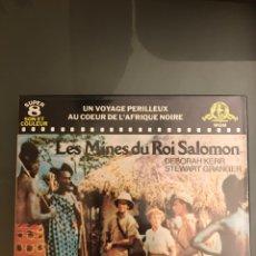 Cine: LAS MINAS DEL REY SALOMÓN - EN FRANCÉS. Lote 70041559