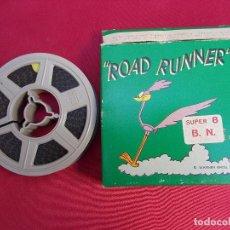 Cine: PELICULA SUPER 8 MM. ROAD RUNNER. L'IPNOTIZZATORE. WARNER BROS. TECHNO FILM.. Lote 72375267