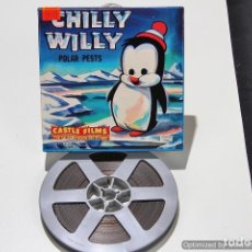 Cine: PELICULA SUPER 8 CASTLE FILM CHILLY WILLY Nº 554 60M. Lote 74117642