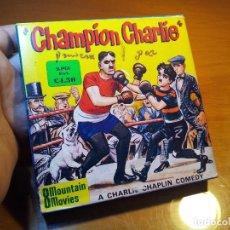 Cine: PELICULA CHARLIE CHAPLIN T.188 CHAMPION CHARLIE- MONTAIN FILMS--13 CM DIAMETRO BOBINA-BUEN ESTADO. Lote 76517003