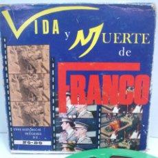 Cine: DOCUMENTAL CINE SUPER 8 MM -EDIC. ESPECIAL NO-DO -VIDA Y MUERTE DE FRANCO - SONORO COLOR - 8MM 2. Lote 80062217