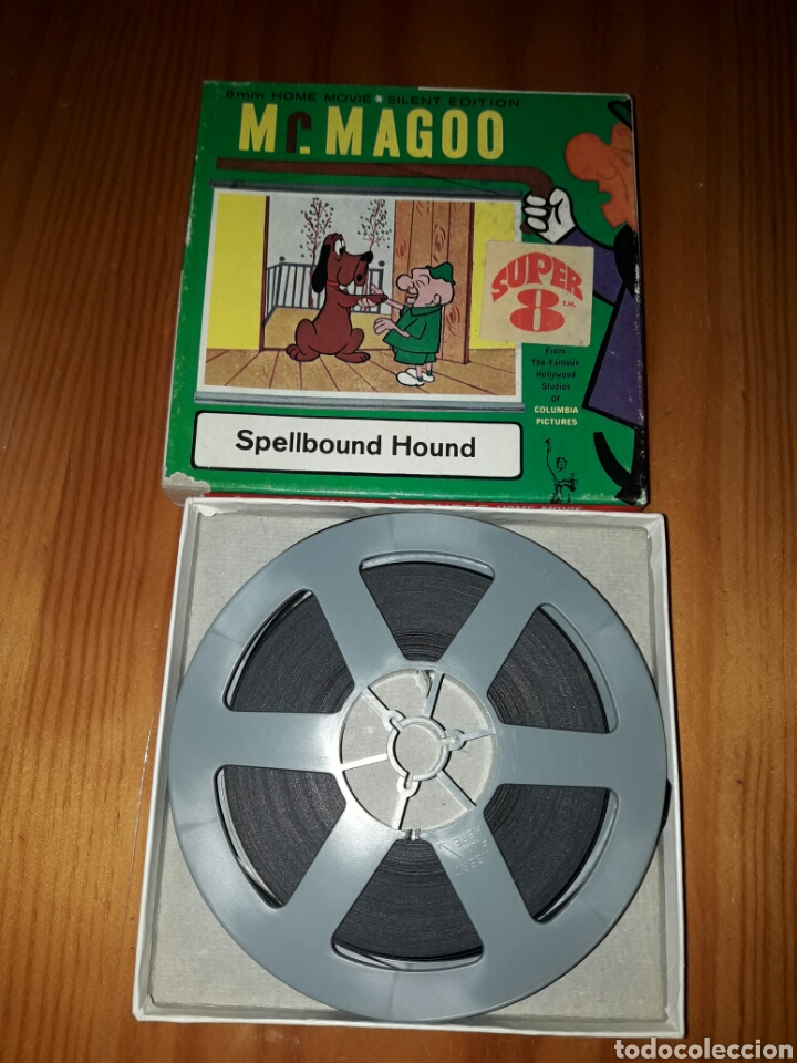 PELICULA SUPER 8 MJ.MAGOO (Cine - Películas - Super 8 mm)