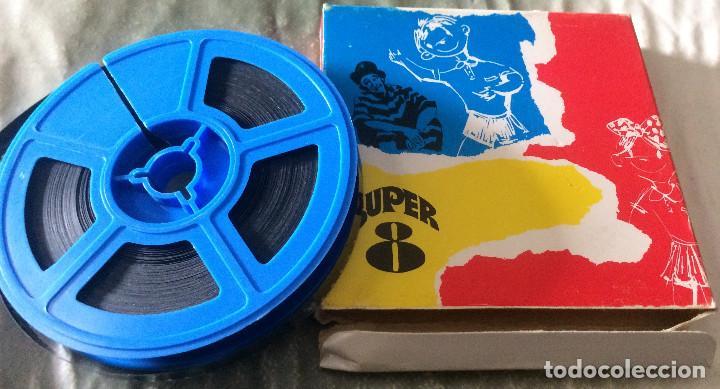 'LAUREL Y HARDY - UNA NOCHE TERRORÍFICA'. PELÍCULA SUPER 8 MM. ARIES FILMS Nº 2788. BUEN ESTADO. (Cine - Películas - Super 8 mm)