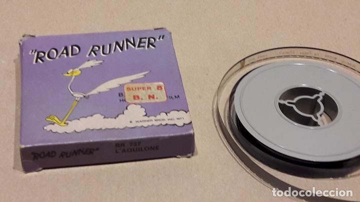 ROAD RUNNER. L'AQUILONE. B/N - TECHNO FILM / CAJA ORIGINAL. (Cine - Películas - Super 8 mm)