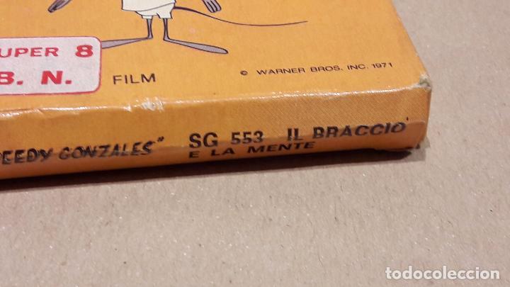 Cine: SPEEDY GONZALES. IL BRACCIO E LA MENTE. B/N - TECHNO FILM / CAJA ORIGINAL. - Foto 3 - 82213916