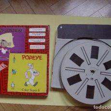 Cine: SÚPER 8 MM.: DIBUJOS ANIMADOS. POPEYE Y SPEEDY GONZALES (1970'S) COLECCIONISTA. Lote 82660080