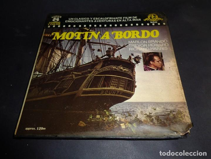 MOTIN A BORDO - 120 M - PELICULA SUPER 8 MM - RETRO VINTAGE FILM - MARLON BRANDO ... 1962 (Cine - Películas - Super 8 mm)