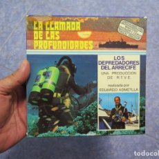 Cine: LOS DEPREDADORES DEL ARRECIFE -CORTOMETRAJE-DOCUMENTAL SUPER 8 MM-VINTAGE FILM. Lote 86890028
