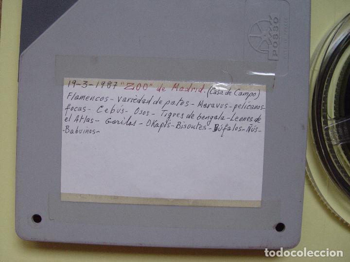 Cine: SÚPER 8 mm.: Zoo Madrid (1987) Grabación casera. Original. Coleccionista - Foto 3 - 87053564