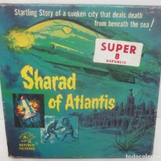 Cine: PELÍCULA SUPER 8 BLANCO Y NEGRO SHARAD OF ATLANTIS. Lote 87648268