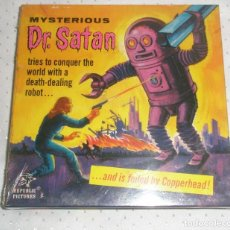 Cine: MYSTERIOUS DR. SATAN BLACK WHITE SILENT SF-1 SUPER 8MM [NUEVO Y PRECINTADO]. Lote 92312140