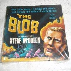 Cine: THE BLOB FOR STARRING STEVE MC QUEEN [NUEVO PERO SEMI DESPRECINTADO]. Lote 92313340