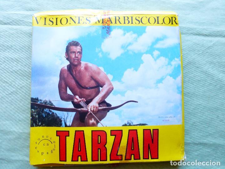 PELICULA COLOR SUPER 8 SONORO. TARZAN LA AMENAZA DE LOS BANTO. VISIONES MARBISCOLOR (Cine - Películas - Super 8 mm)