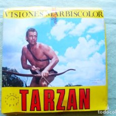 Cine: PELICULA COLOR SUPER 8 SONORO. TARZAN LA AMENAZA DE LOS BANTO. VISIONES MARBISCOLOR. Lote 94163530