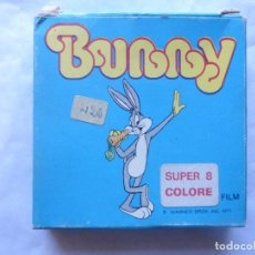 Cine: PELICULA COLOR SUPER 8 COLOR. BUGS BUNNY I TRAVESTIMENTI. TECHNO FILMS. Lote 94166500