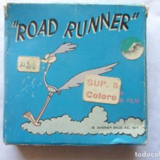 Cine: PELICULA COLOR SUPER 8 COLOR . ROAD RUNNER LA TROTTOLA. TECHNO FILM. Lote 94166800