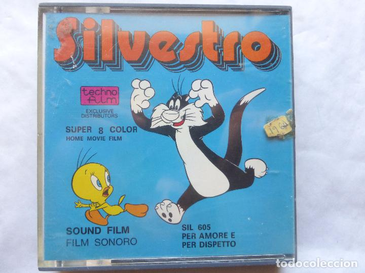 PELICULA COLOR SUPER 8 SONORO . SILVESTRO. TECHNO FILM. NUEVO CON PRECINTO (Cine - Películas - Super 8 mm)