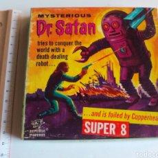 Cine: ANTIGUA PELÍCULA MYSTERIOUS DR. SATAN EN SÚPER 8. Lote 99246448