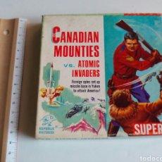 Cine: ANTIGUA PELÍCULA CANADIAN MOUNTIES EN SUPER 8. Lote 99247236