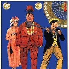 Cine: EN LA FERIA ( BUSTER KEATON ) 1917. Lote 99318203