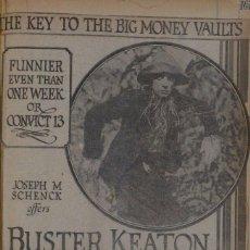 Cine: EL ESPANTAPAJAROS ( BUSTER KEATON ) 1920. Lote 99318427